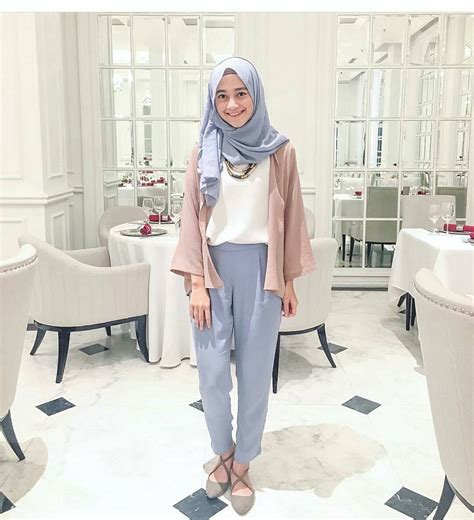 20 Trend Model Baju Muslim Lebaran 2018 Casual, Simple dan