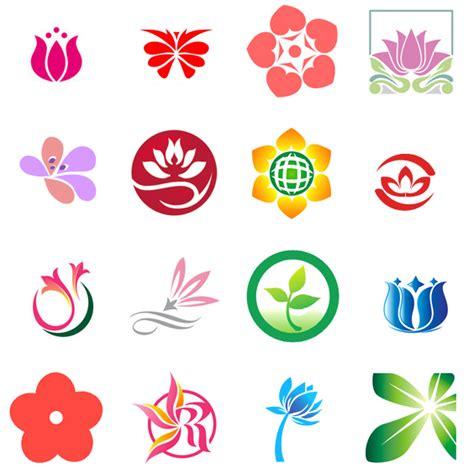 flower pattern logo flower logos images logoinlogo