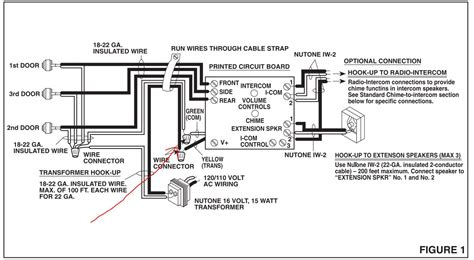 nutone doorbell intercom wiring diagram efcaviation