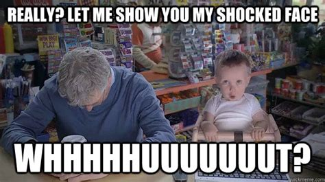 Etrade Baby Meme - memes shocked face image memes at relatably com