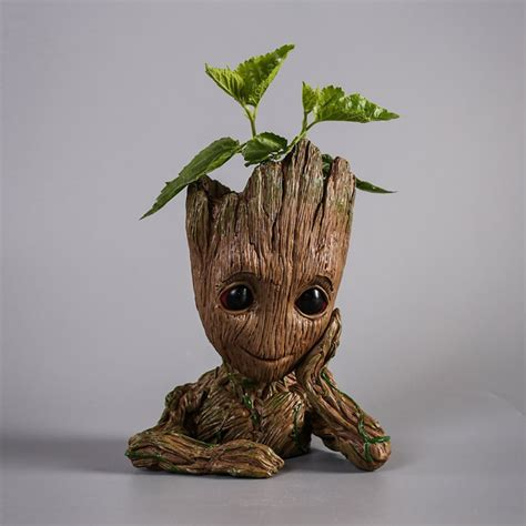 Pot Plant Baby baby groot flower pot takes root technabob