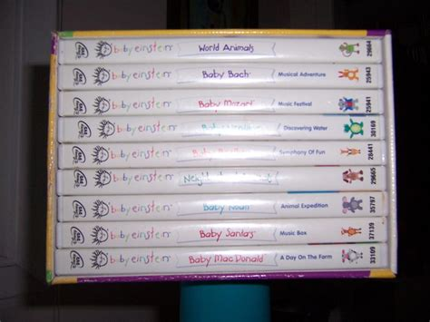 family dvd collection stratford pei walt disney baby einstein collection 2 9 dvd set