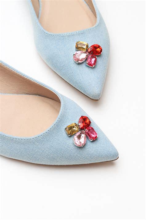 diy rhinestone shoes diy rhinestone flats the crafted