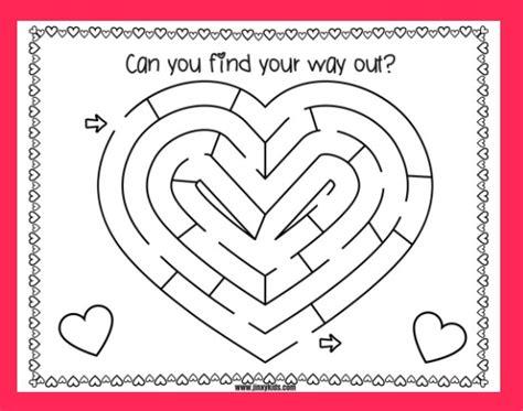 printable valentine s maze free printable valentine s day word search puzzle jinxy kids