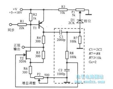 fet transistor oscillator the oscillator using fet and transistor oscillator circuit signal processing circuit