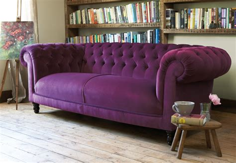 purple sofa trashsparkle march 2011