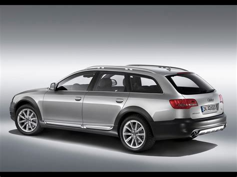 2009 Audi A6 allroad quattro Rear And Side 1920x1440 Wallpaper