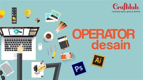 operator design grafis studentjob indonesia