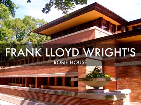 Free House Design frank lloyd wright s robie house by mike terlouw