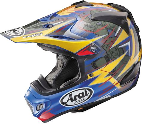 motocross helmets with visor arai vx pro4 tickle trophy mx motocross helmet with