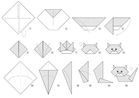 Origami Activity For - cat activities for activity shelter