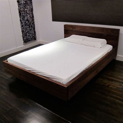 Floating Platform Bed Floating Platform Bed By Sarabi Studio Fab