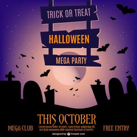 editar imagenes halloween online halloween modelo do convite do vetor baixar vetores gr 225 tis