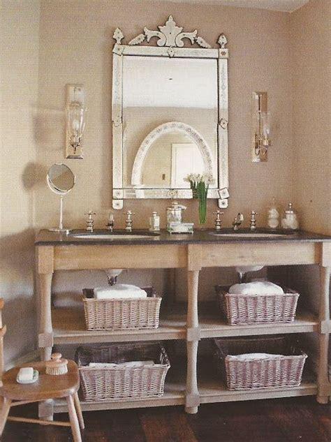 bathroom vanity open shelves bathroom vanity with open shelves baskets the