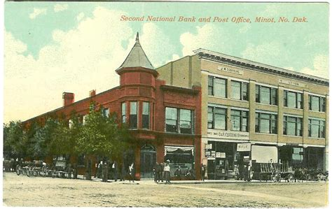 Minot Post Office by Post Office Photo Collection Post Collectors Club