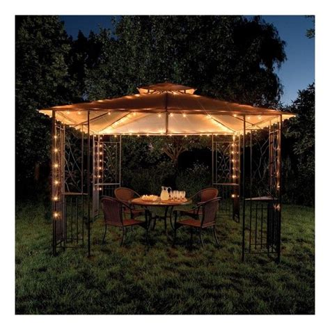 gazebo string lights outdoor string lights for gazebo photos pixelmari