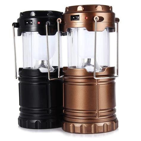 Lu Lantera Emergency Tenaga Solar ipree 6 led ritrattabile portatile della tenda della luce della lada di emergenza lanterna
