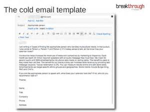 cold call email template cold emailing how i discovered the secret to cold
