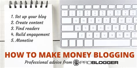 How To Start A Blog And Make Money Online - make money blogging