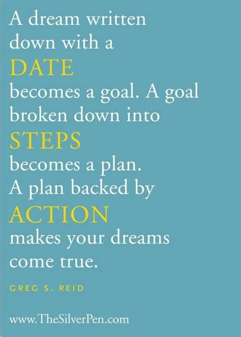 planning your dreams make dreams reality turn goals into reality