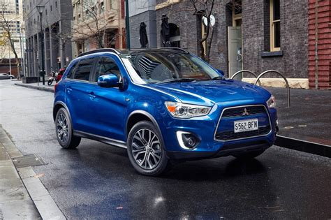 mitsubishi asx 2015 2015 mitsubishi asx updated with revised styling new