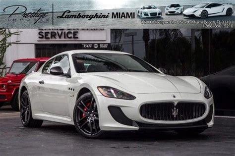 Maserati Buy Buy Used 2013 Maserati Sport In Miami Florida United