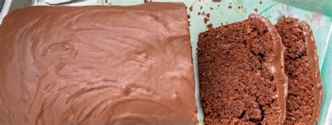 glasur für kuchen selber machen schokokuchen mit nutella glasur