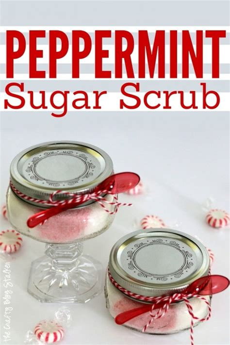 Links Peppermint by How To Make Peppermint Sugar Scrub The Crafty Stalker