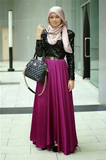Baju Muslim Simply Byna Dress 25 trend baju muslim pesta simple elegan modern terbaru