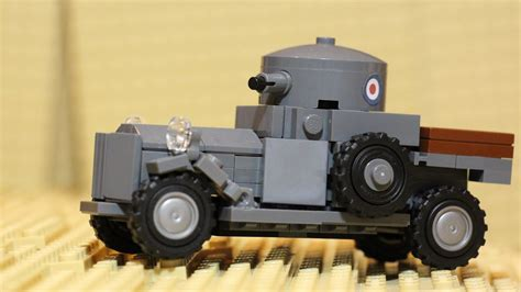 Lego Haul 67 Rolls Royce Armored Car Wheels And Custom