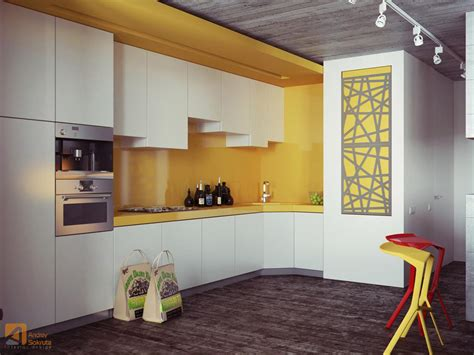 yellow kitchen backsplash ideas bold yellow backsplash design interior design ideas
