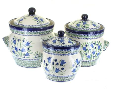 canisters marvellous blue canister sets farmhouse kitchen