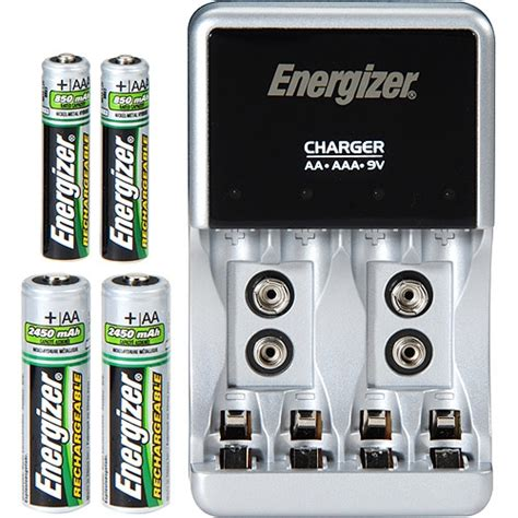 Pile Rechargeable Aaa 2012 by Energizer Charger Aa Aaa 9v