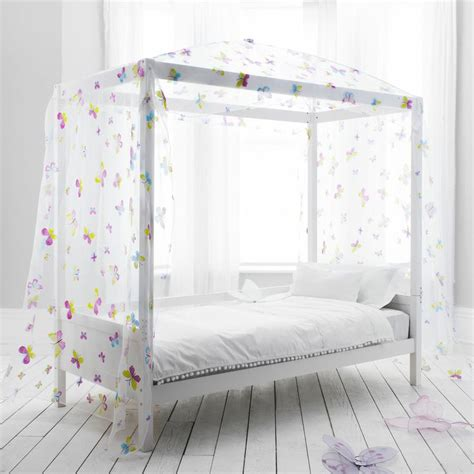 kids canopy bed butterfly canopy daybed 4 poster bed kids bed