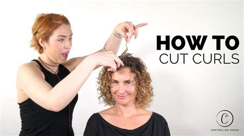 how to trim long curly curly hair yourself the best way to cut curly hair youtube
