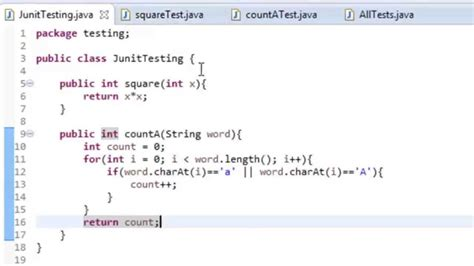 java junit testing in eclipse youtube