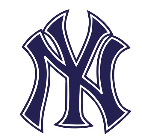 White Pages New York Lookup New York Yankees Logo Outline Www Imgkid The Image Kid Has It