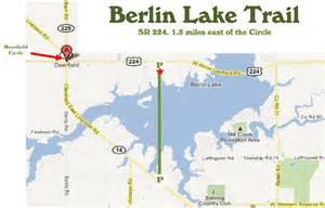 Berlin Ohio Map by Berlin Lake Trail Portage Park District