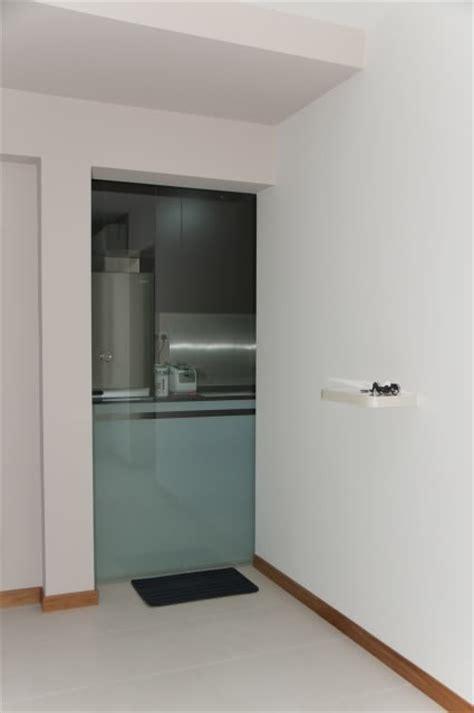 sliding glass doors for kitchen cabinets kitchen reno 1 hdb kitchen door can opt for sliding glass door instead