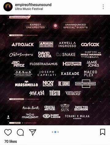 paul oakenfold ultra music festival 2018 one of ultra s 2018 headliners leaked the phase 1 lineup
