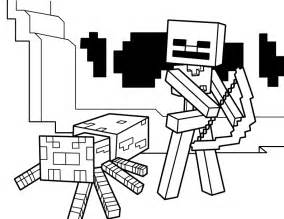minecraft images to color free coloring pages of minecraft jockey