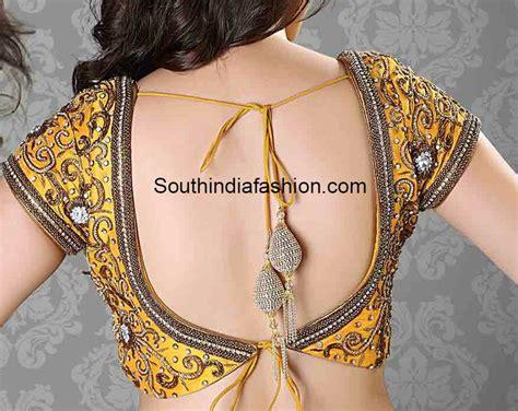 net blouse pattern 2015 latest tie back blouse designs