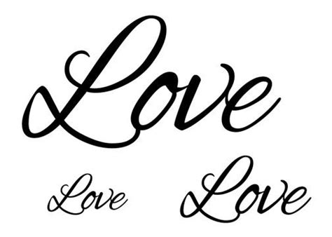 love script tattoo designs script temporary set tatt me temporary tattoos