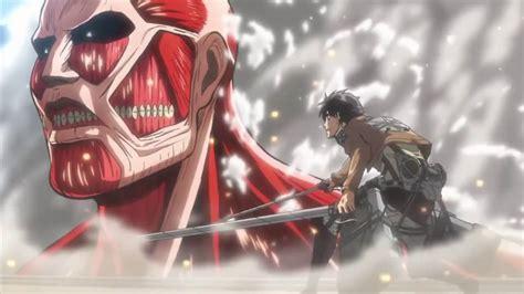 Kaos Anime Titan Rogue Eren Attack On Titan attack on titan eren vs colossal titan www pixshark