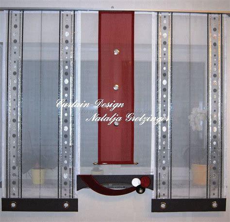 Moderne Wohnzimmer Gardinen 153 by Kleiner Schwarz Roter Schiebevorhang F 252 R Die K 252 Che Http