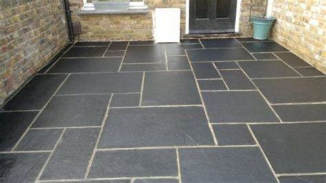 Black Limestone Patio Slabs by The Sandstone Centre Sandstone Patio Paving Slabs