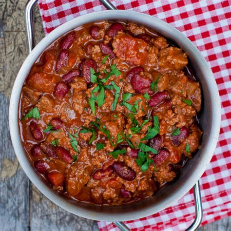 best chili con carne recipe a bowl of comfort food support for eat