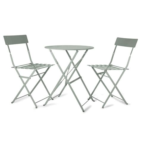 Cafe Table And Chair Sets garden trading rive droite bistro table chairs set shutter blue 163 125 00 at amara