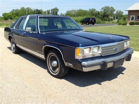 tire pressure monitoring 1985 ford ltd crown victoria windshield wipe control service manual 1991 ford ltd crown victoria rear door handle install buy used 1991 ford ltd