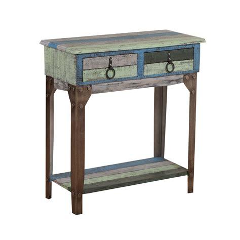 powell calypso small console table reviews wayfair